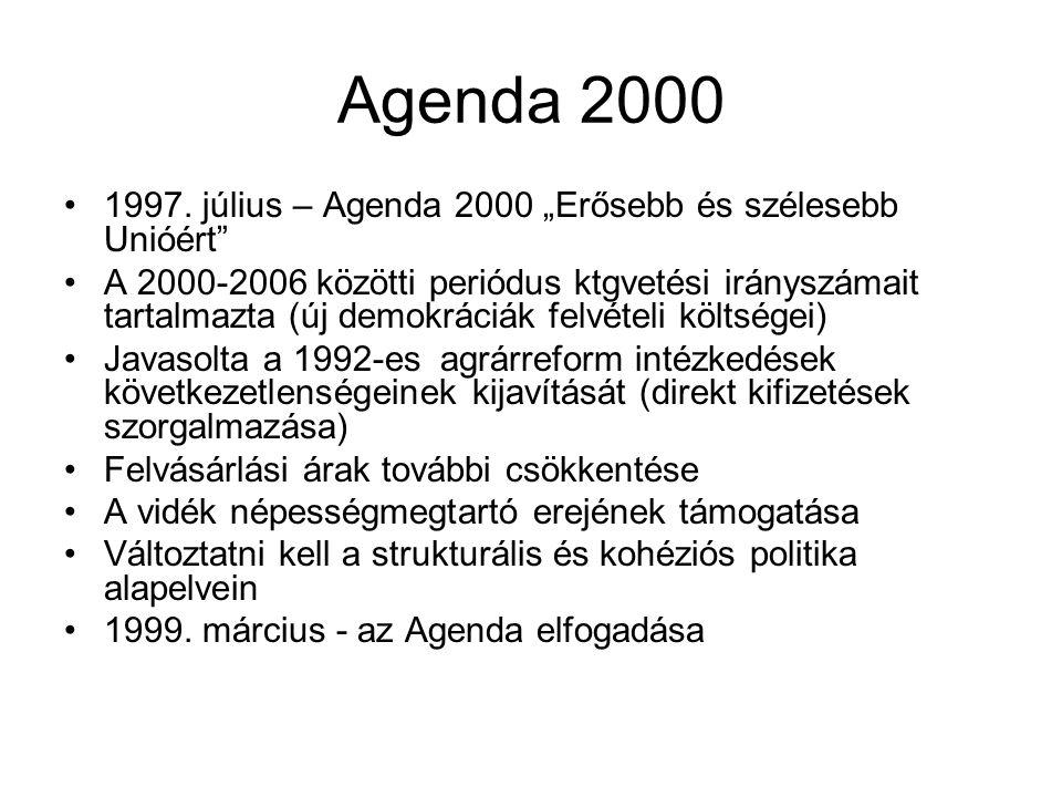 Agenda 2000 1997.