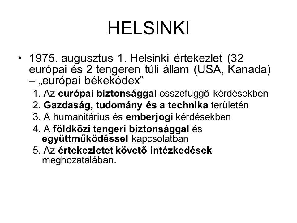 HELSINKI 1975.augusztus 1.