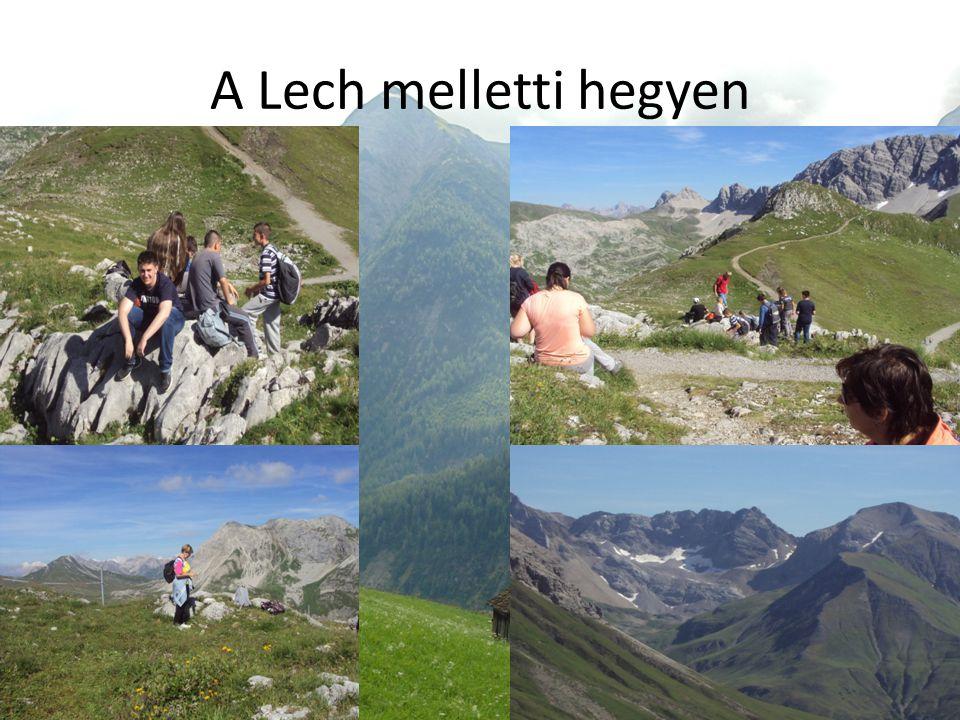 A Lech melletti hegyen