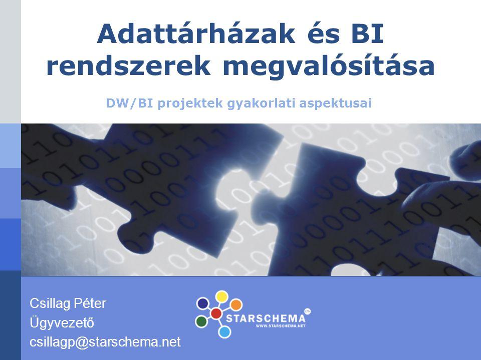 www.starschema.net 2 Bemutatkozás  A Starschema KFT adattárházakhoz és üzleti intelligencia rendszerekhez kapcsolódó konzultációs és fejlesztési tevékenységeket végez.