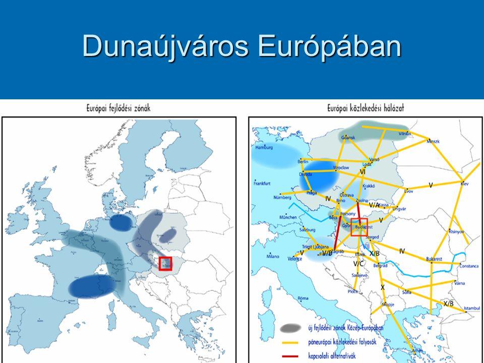 Dunaújváros Európában