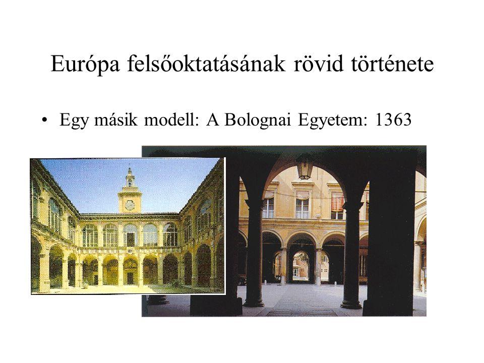 A magyar felsőoktatás története: Finanszírozás Kezdetben mecénások 1941-ben hivatalosan tandíj 1985.