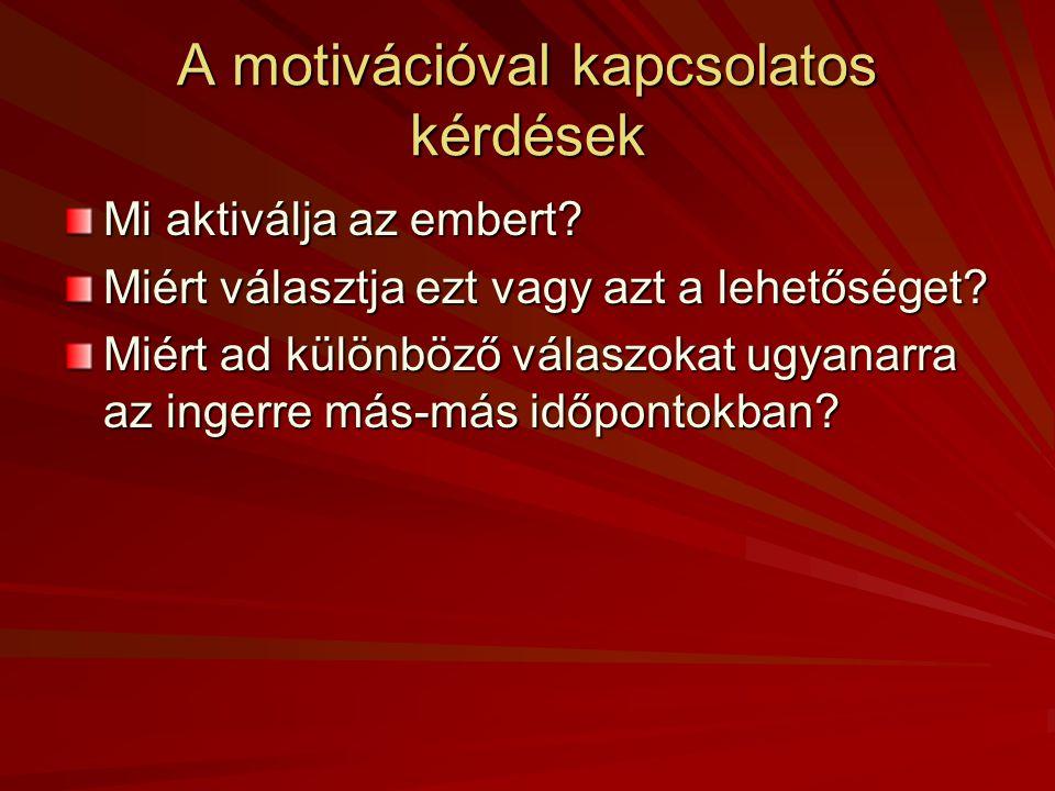 """Kelly hasonlata a motivációs teóriákról """"Vasvilla -teóriák: drive, S – R, Freud, Murray, Festinger """"Répa -teóriák: cél-teóriák relaxáció/jókedv, agresszió/hatalom, önértékelés, érzelem/támasz, szorongás/félelem-redukció """"Szamár -teóriák: Kelly, attribúciós modellek (Weiner, Dweck) Növekedés, önaktualizáció"""