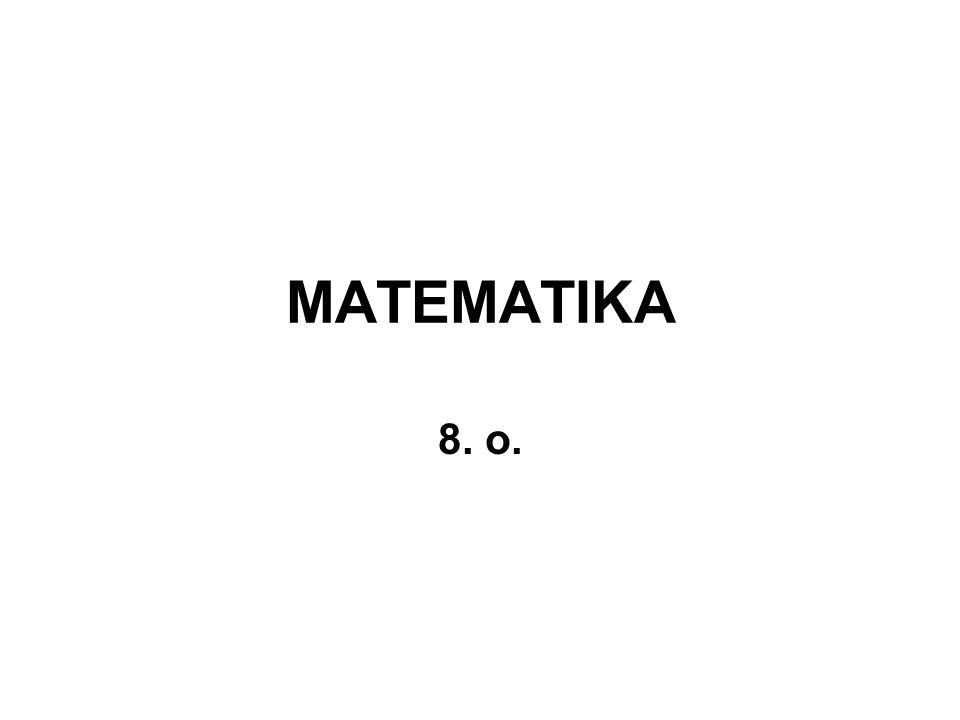 MATEMATIKA 8. o.
