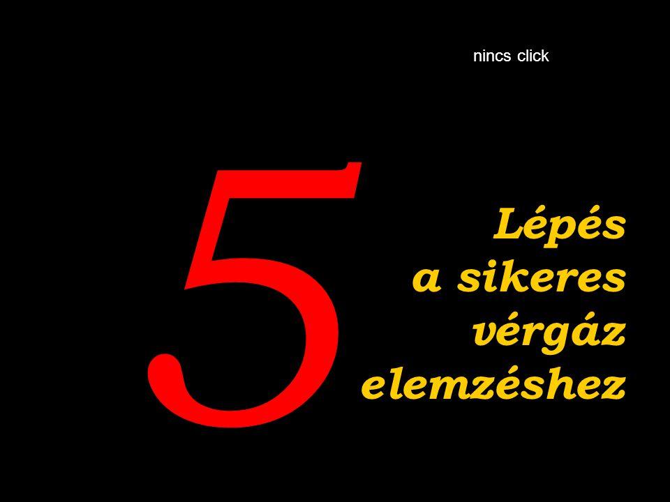 5 The Lépés a sikeres vérgáz elemzéshez nincs click