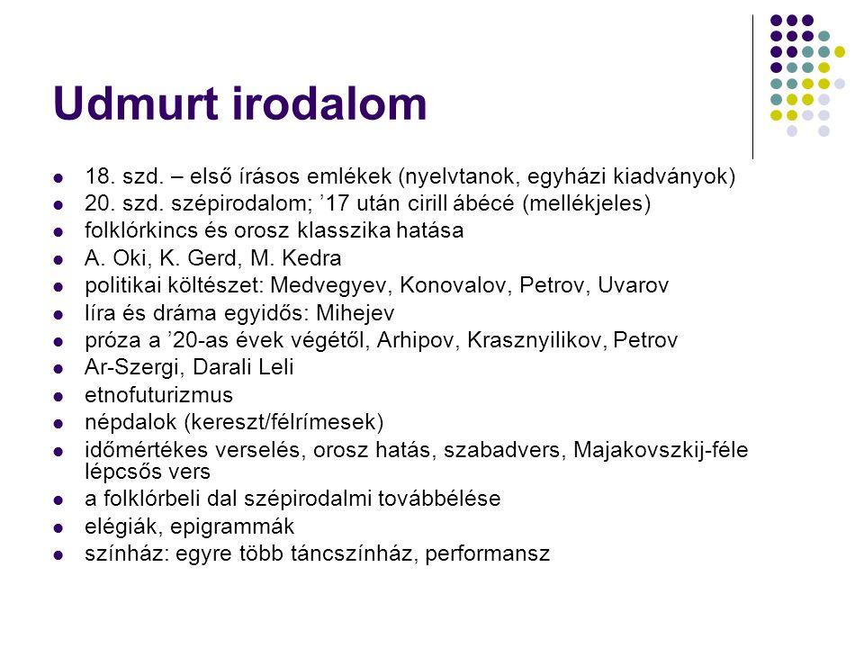 Hanti irodalom 18.