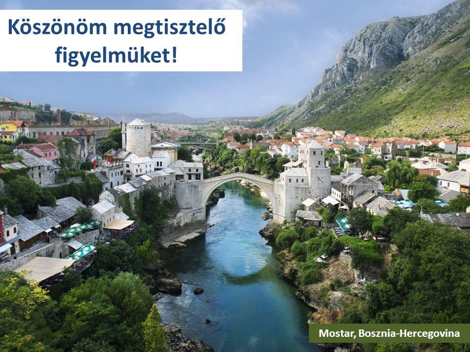 Köszönöm megtisztelő figyelmüket! Mostar, Bosznia-Hercegovina