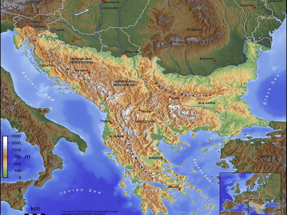 A Balkán etnikai sokszínűsége