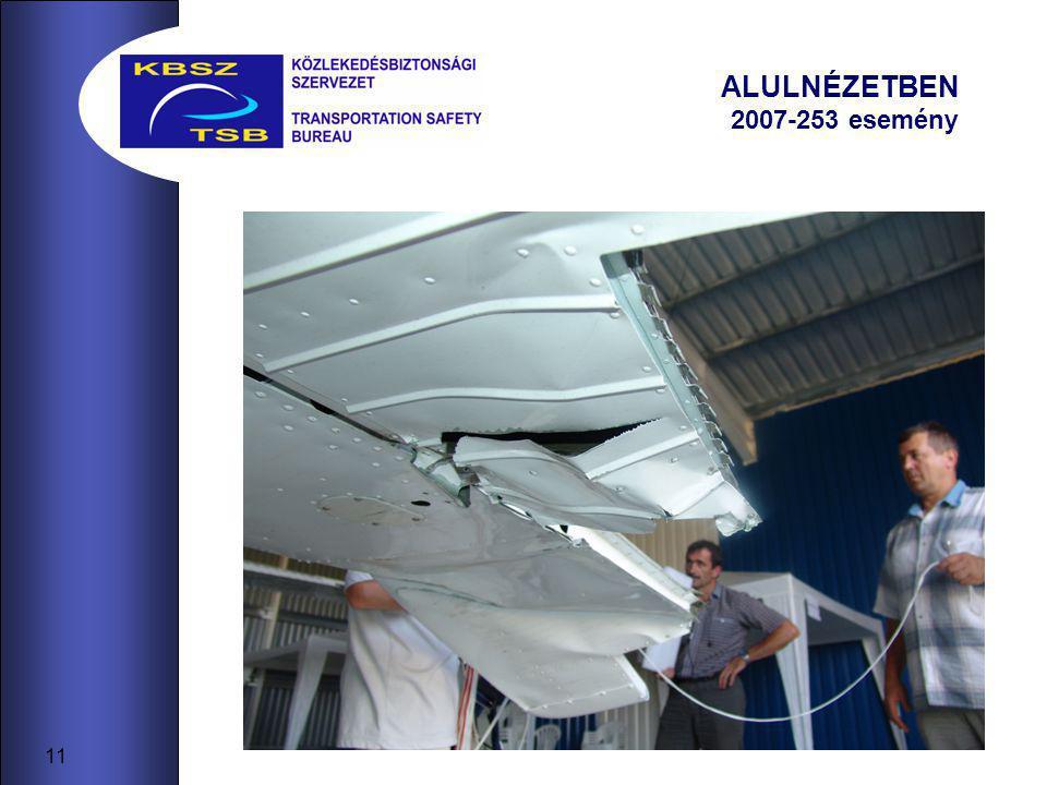 11 ALULNÉZETBEN 2007-253 esemény