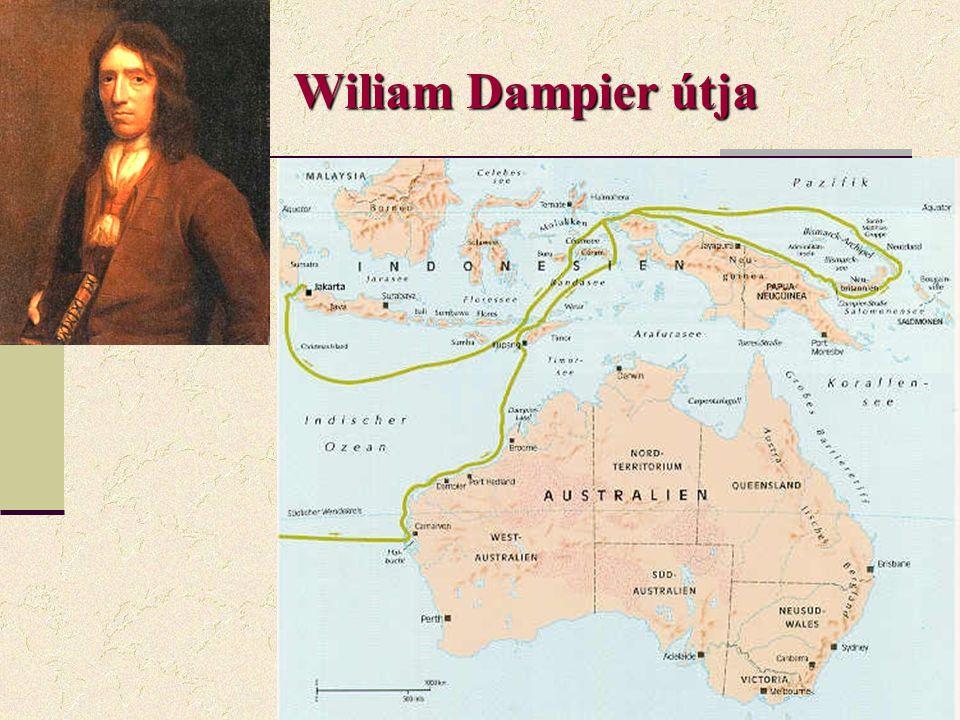 Wiliam Dampier útja