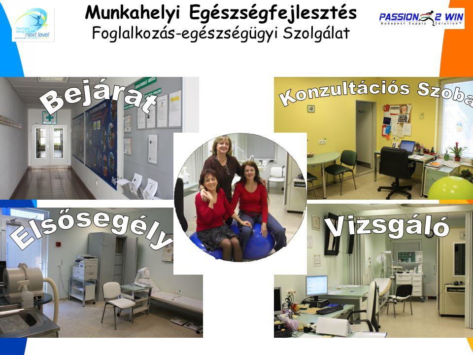 Munkahelyi Egészségfejlesztés Foglalkozás-egészségügyi Szolgálat