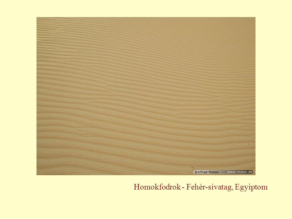 Homokfodrok - Fehér-sivatag, Egyiptom