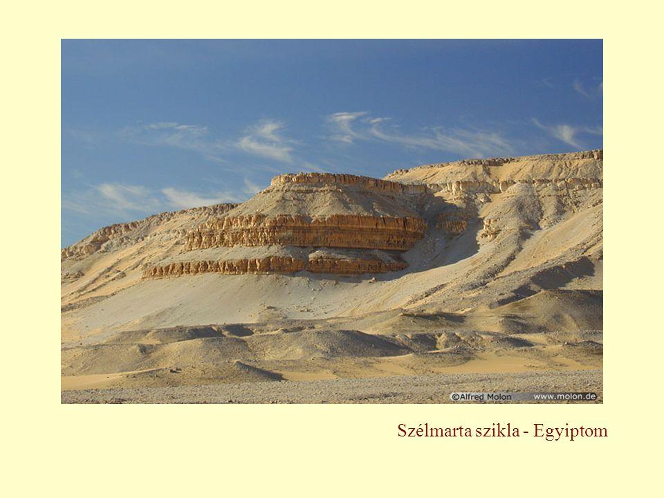 Szélmarta szikla - Egyiptom