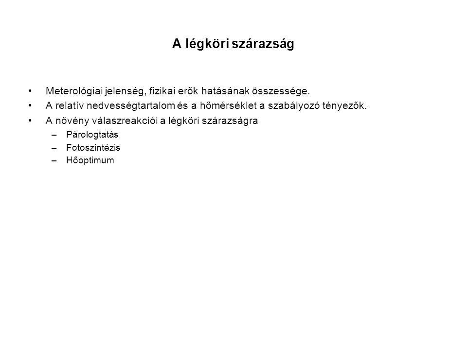 Felhasznált irodalom Szász G.– Tőkei L.