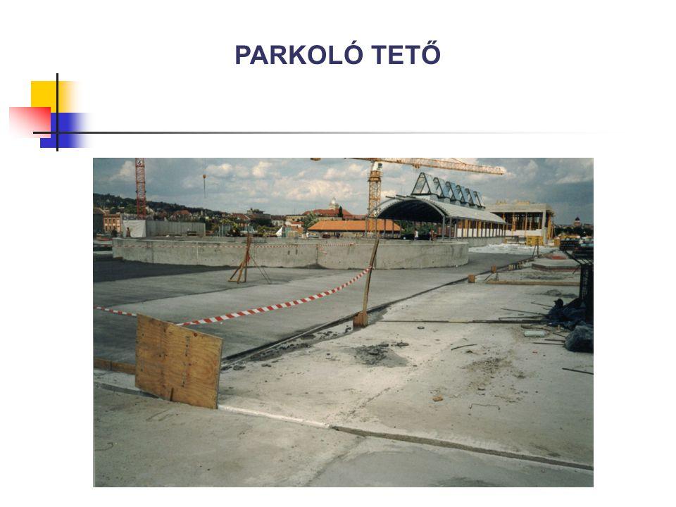 PARKOLÓ TETŐ