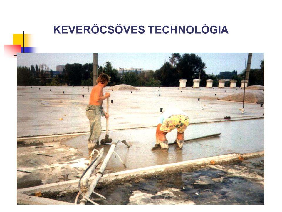 KEVERŐCSÖVES TECHNOLÓGIA