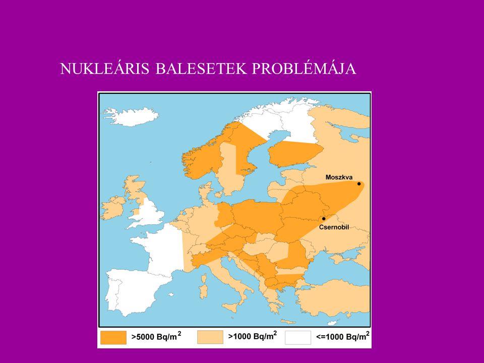 NUKLEÁRIS BALESETEK PROBLÉMÁJA