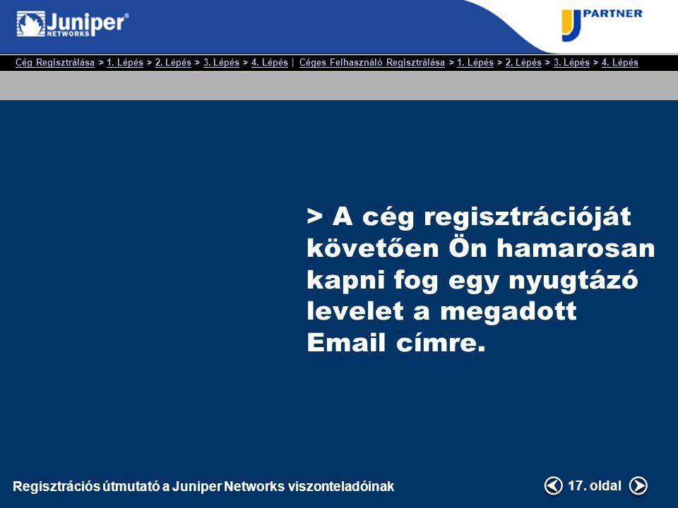 Cég RegisztrálásaCég Regisztrálása > 1. Lépés > 2.