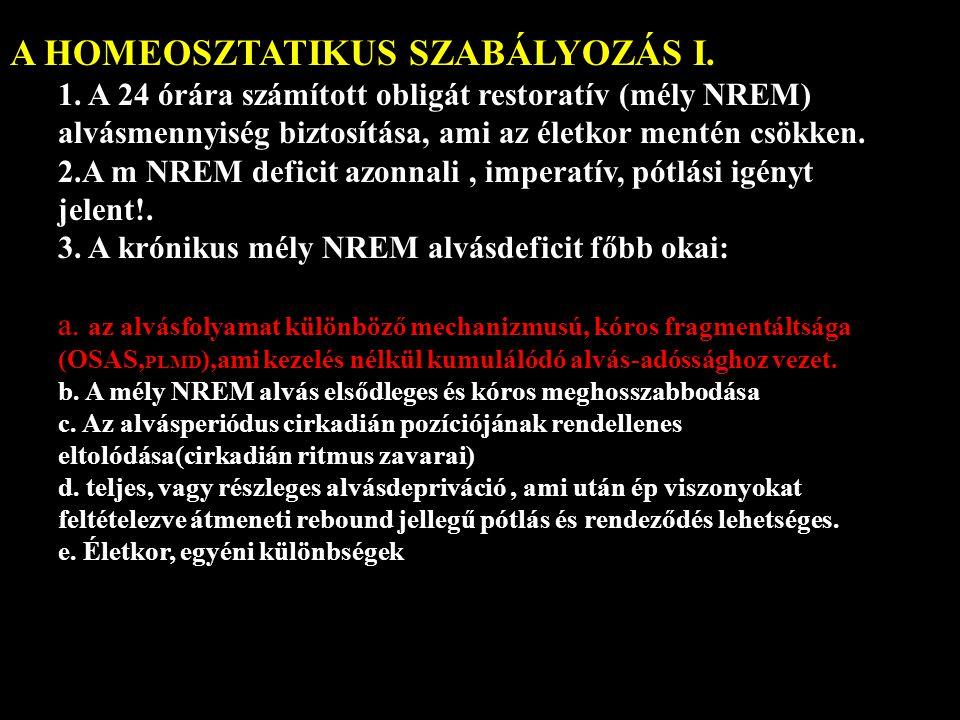 A HOMEOSZTATIKUS SZABÁLYOZÁS I.1.