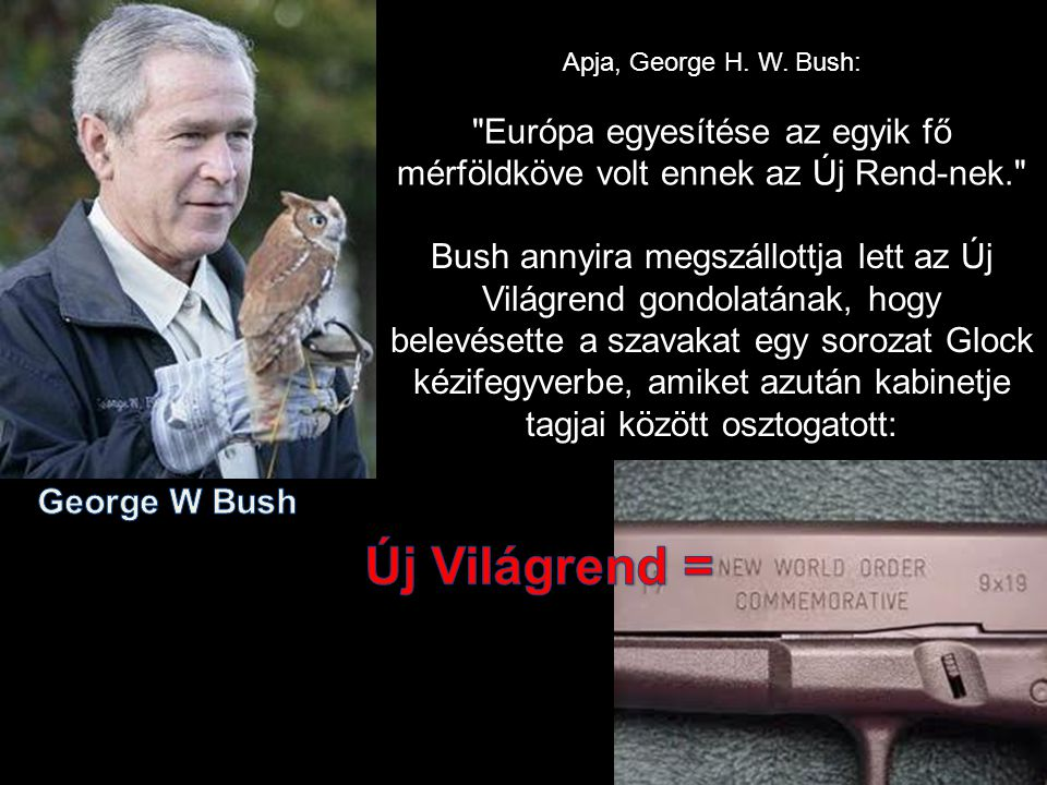 Apja, George H. W. Bush: