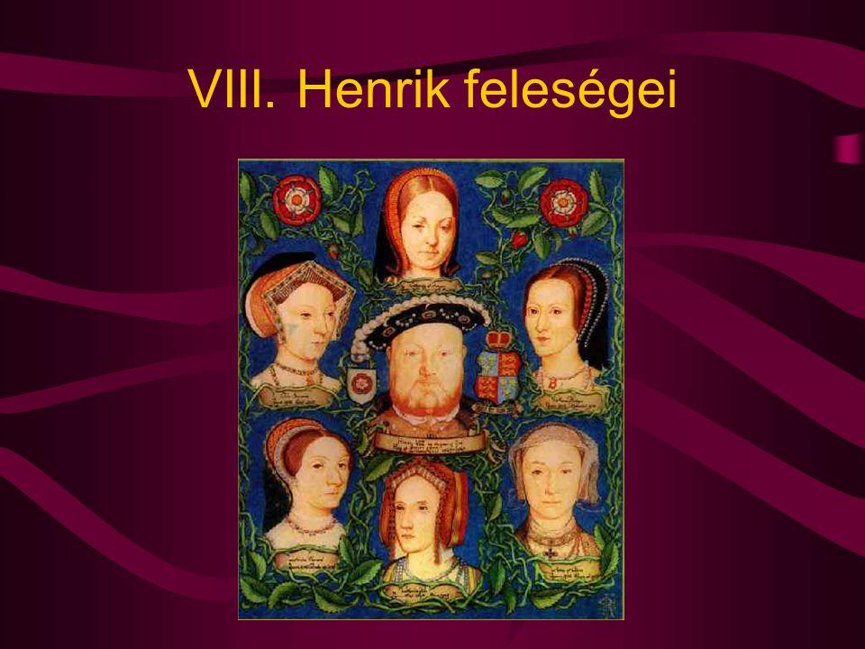 VIII. Henrik feleségei