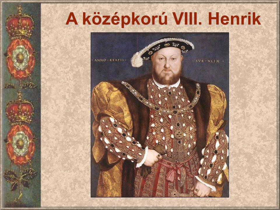 A középkorú VIII. Henrik