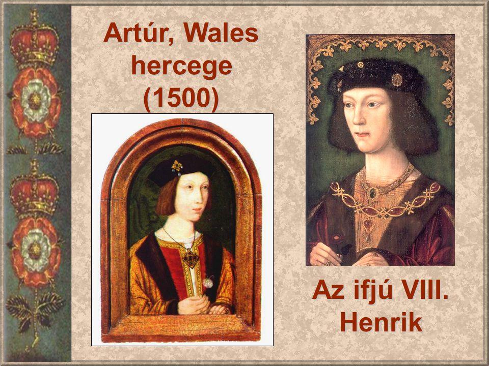 Artúr, Wales hercege (1500) Az ifjú VIII. Henrik