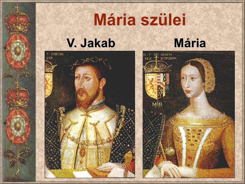 Mária V. Jakab Mária szülei