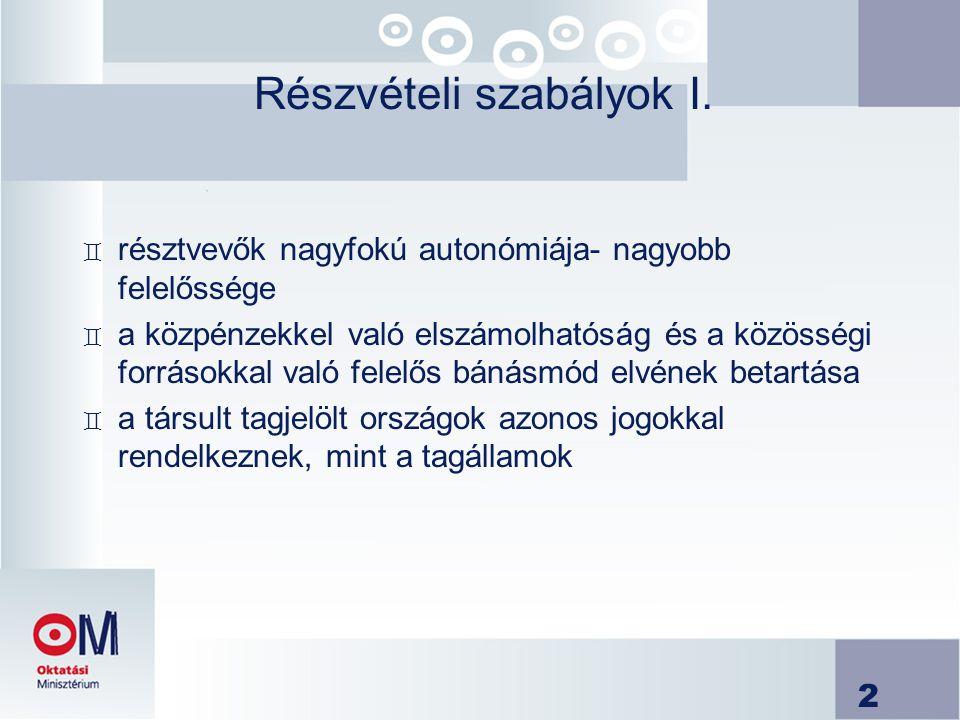 13 Specifikus célzott kutatási projekt II.