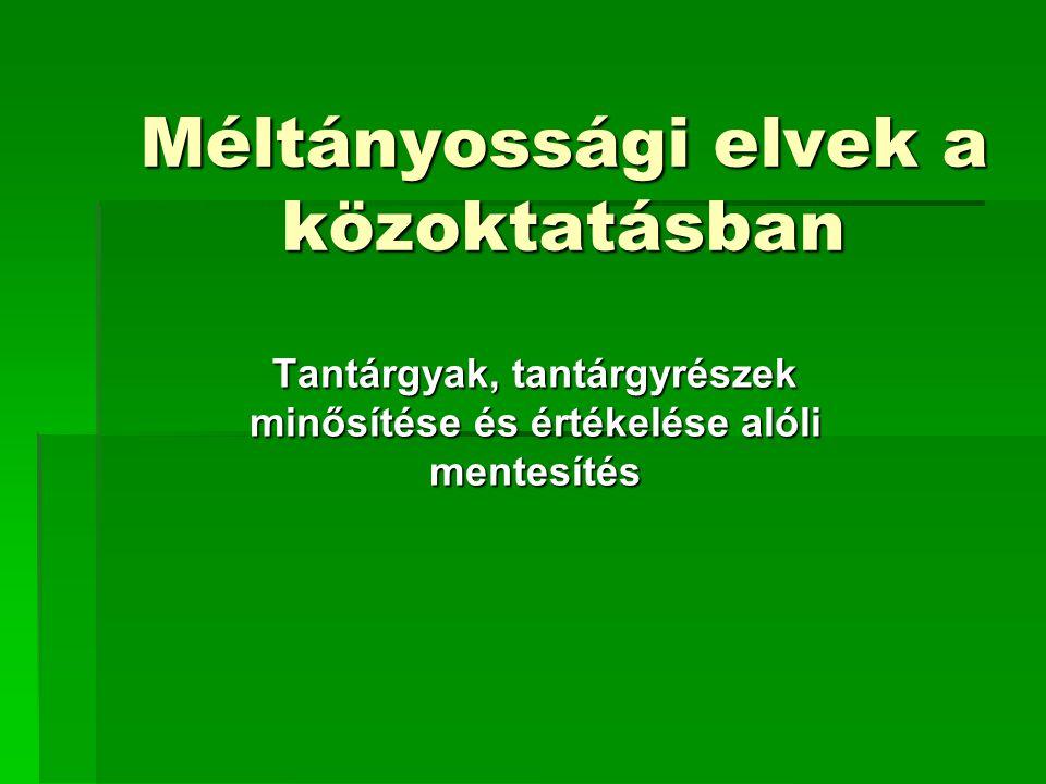Teendők folyt. 100/1997. (VI. 13.) Korm.