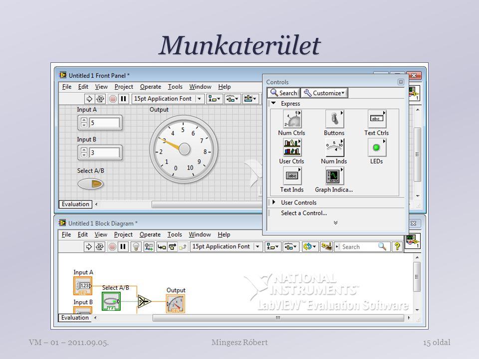 Munkaterület Mingesz RóbertVM – 01 – 2011.09.05.15 oldal