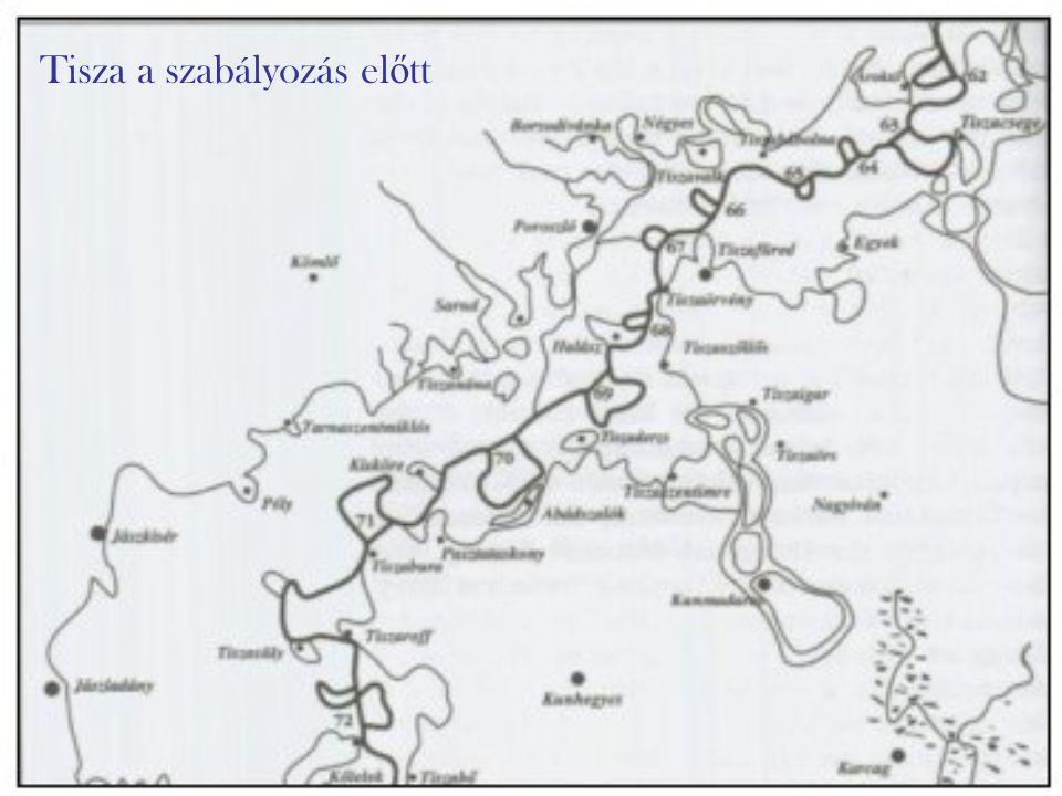 Vásárhelyi Pál 1846-ban a Tisza szabályozásának tervét két változatban is elkészítette, de többre már nem futotta az erejéb ő l, mert április 8-án meghalt.