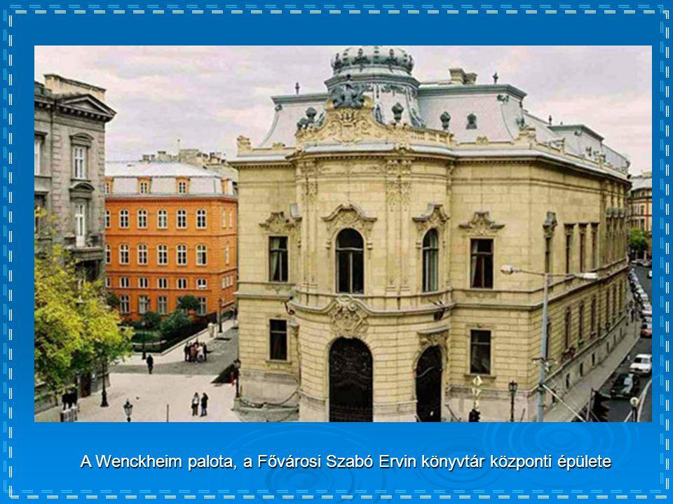 A Budavári Palota, az Országos Széchényi Könyvtár épülete