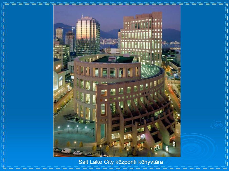 Salt Lake City központi könyvtára