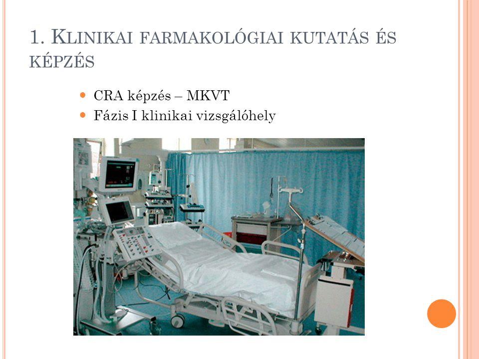 2. K LINIKAI DIAGNOSZTIKA Klinikai Diagnosztikai Laboratórium Ultrahang Laboratórium