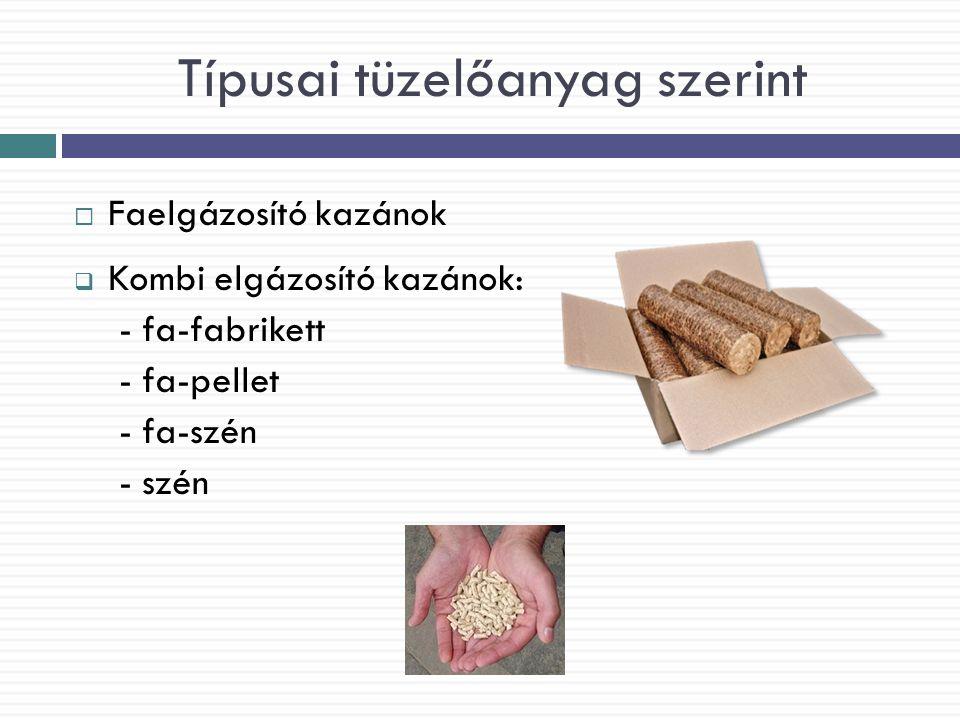 Körültekintés Fogyasztói földgáz ára: 149 Ft/m 3 (Magyarországon) Kiváltása: 3 kg fa Megtakarítás: 80 Ft minden m 3 gáz esetén (200 000 Ft/év megtakarítás)