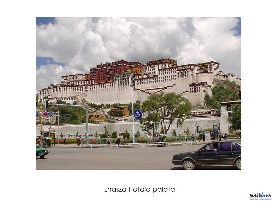 Lhasza Potala palota