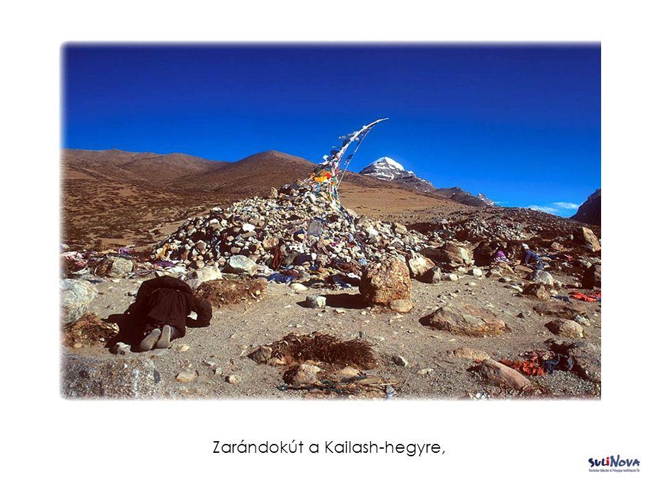 Zarándokút a Kailash-hegyre,