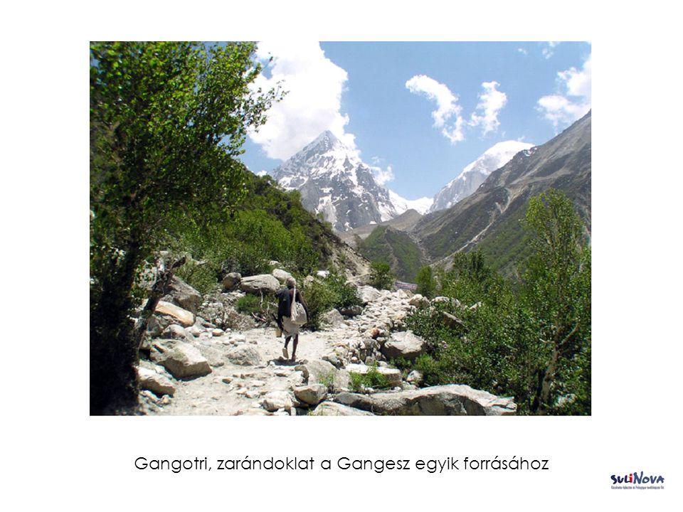 Gangotri, zarándoklat a Gangesz egyik forrásához