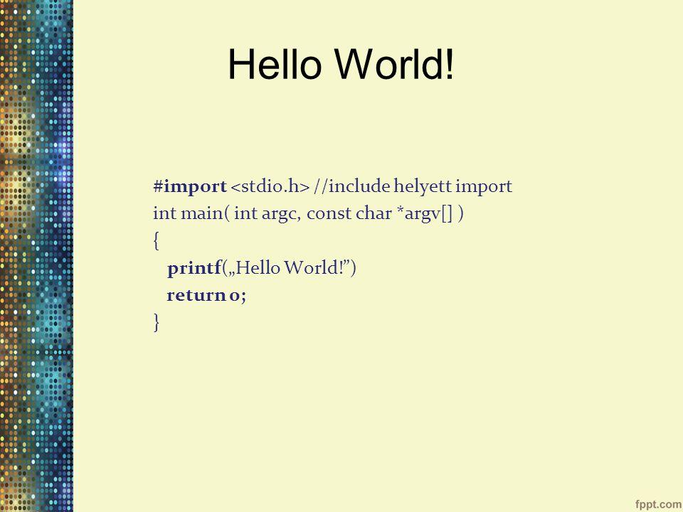 Protokollok @protocoll myProtocoll //protokoll - (void) requiredMethod; @optional - (void) optionalMethod; -(void) anotherOptionalMethod; @required - (void) anotherRequiredMethod; @end //protokoll megvalósítás jelölése @interface ClassName : ItsSuperclass