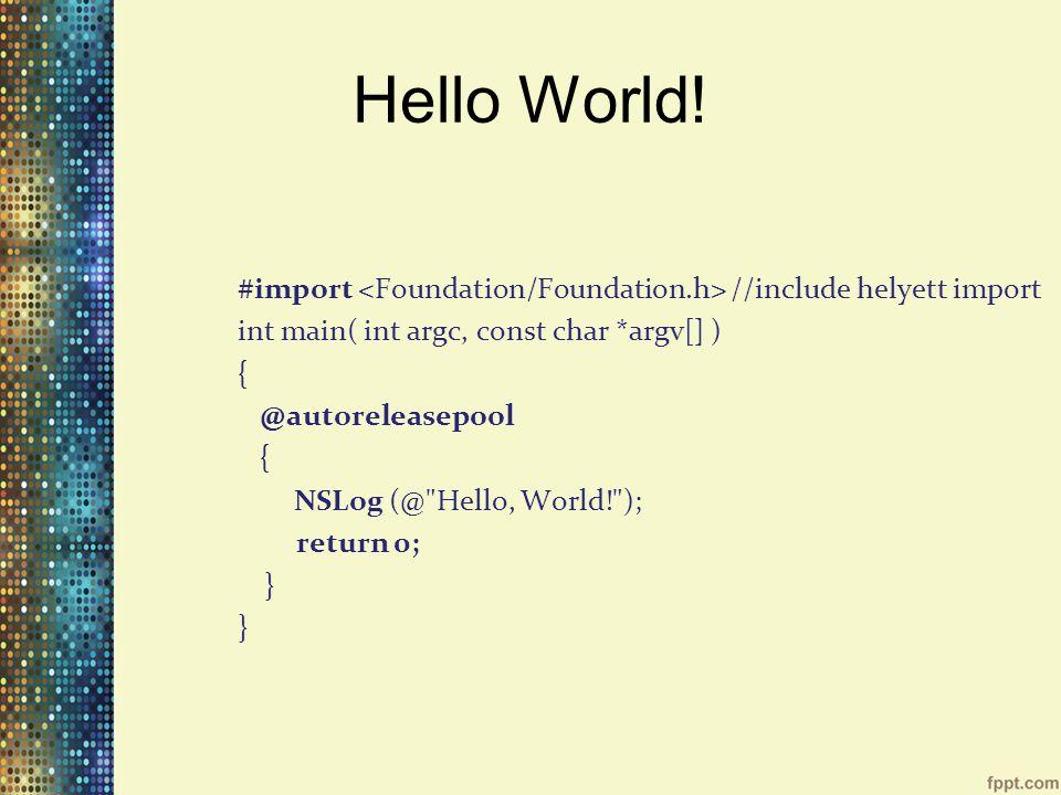 Hello World.