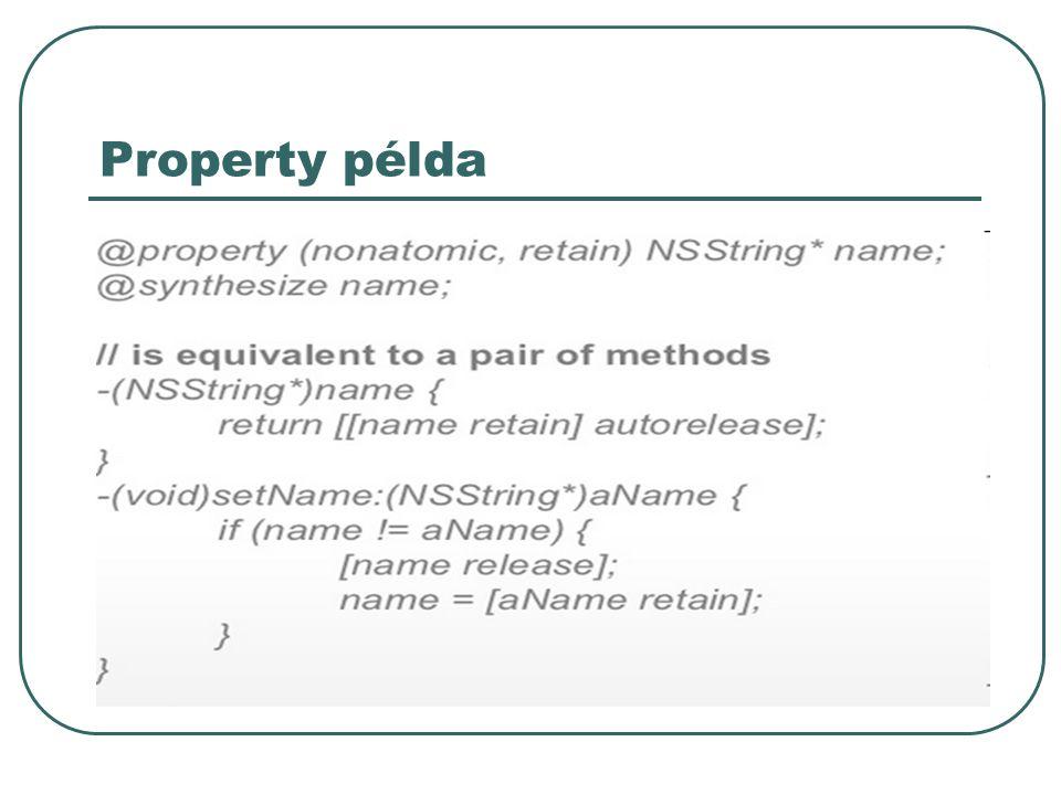 Property példa