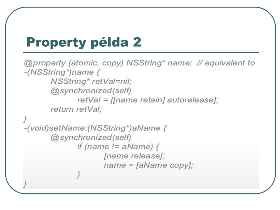 Property példa 2