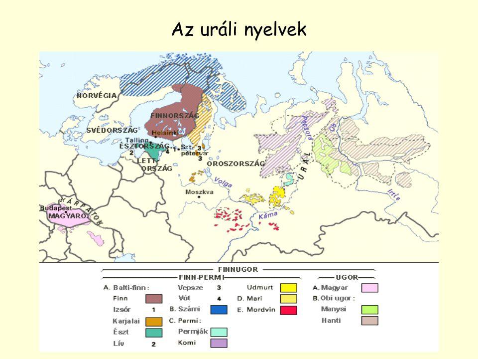 Az uráli nyelvek