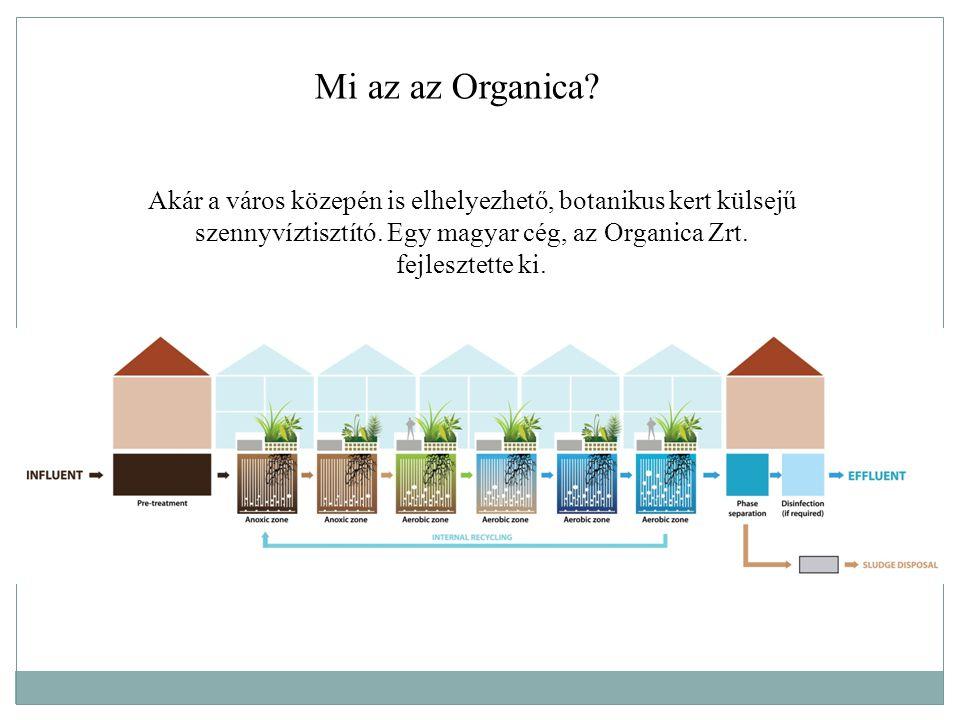 Akár a város közepén is elhelyezhető, botanikus kert külsejű szennyvíztisztító. Egy magyar cég, az Organica Zrt. fejlesztette ki. Mi az az Organica?