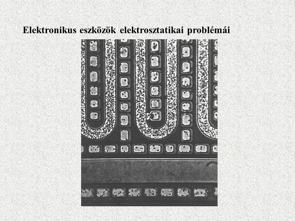 Elektronikus eszközök elektrosztatikai problémái