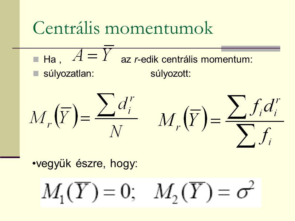 A koncentráció fogalma gazdasági életben: erőforrások tömörülése, összpontosulása statisztikailag: az értékösszeg jelentős része, vagy egésze a sokaság kevés egységére összpontosul
