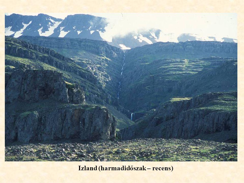 kezdődalur Izland (harmadidőszak – recens)