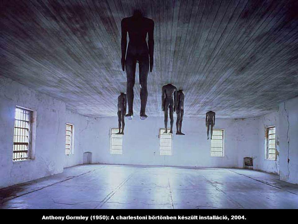 Anthony Gormley (1950): A charlestoni börtönben készült installáció, 2004.