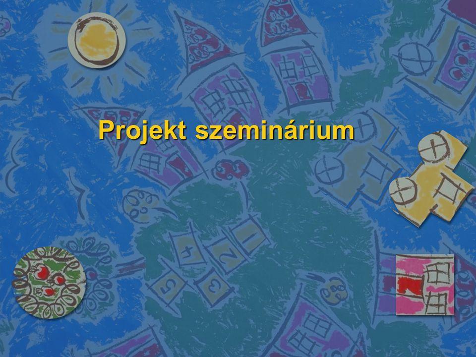 Projekt szeminárium